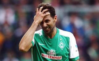 Claudio Pizarro descartado para partido ante Bayern Múnich