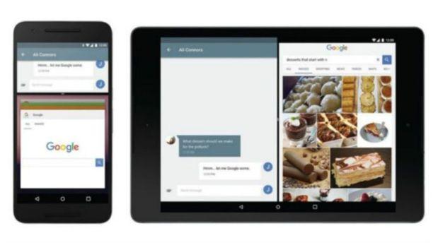 Con Android N se podran utilizar dos aplicaciones al mismo tiempo en la misma pantalla. (Foto: Google)