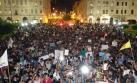 Miles marcharon contra la candidatura de Keiko Fujimori [FOTOS]