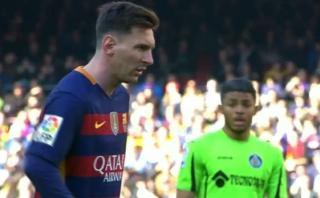 Barcelona: Lionel Messi erró penal ante Getafe [VIDEO]