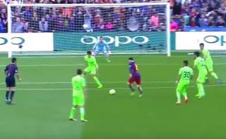Lionel Messi anota nuevo golazo desde fuera del área [VIDEO]
