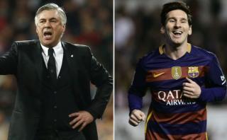 Carlo Ancelotti y una lección maestra: cómo defender a Messi