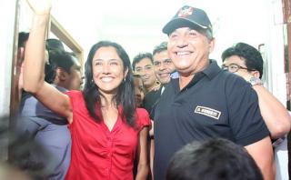 Nadine Heredia justifica el retiro de candidatura de Urresti