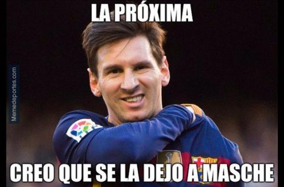 Los memes del penal fallado de Messi y la goleada del Barza