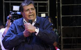 Alan García insultó a colaborador durante actividad en Huancayo