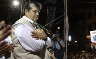 """El 67% """"definitivamente no votaría"""" por Alan García"""
