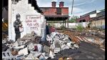Banksy: el secreto de las paredes - Noticias de brad pizza