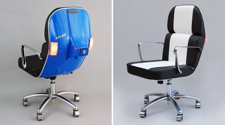 Una silla perfecta para todos los fan ticos de las motos for Sillas para motos