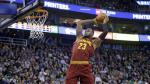 NBA: espectacular salto y clavada de LeBron James [VIDEO] - Noticias de james gordon