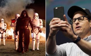 "¿Por qué J.J. Abrams no te aconseja ver ""Star Wars"" en móvil?"