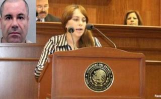 """Lucero Sánchez, la diputada que pasó Año Nuevo con """"El Chapo"""""""