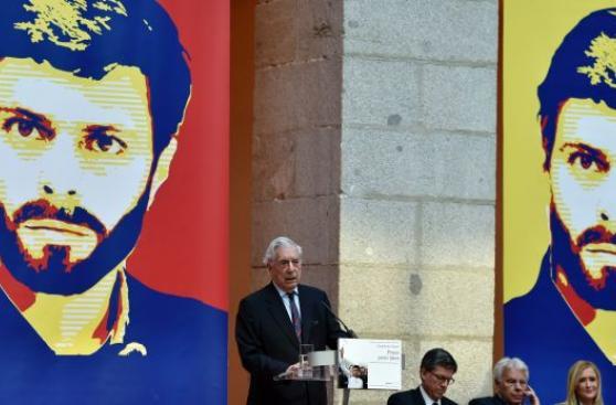 Vargas Llosa presentó libro de Leopoldo López en España [VIDEO]