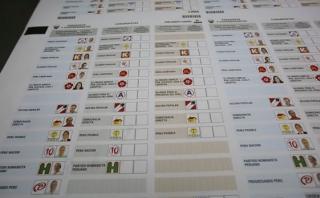 Sin Guzmán ni Acuña: esta es la cédula para las elecciones