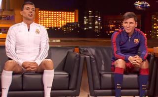 'Messi' y 'Cristiano' cantan a dúo tras discutir en entrevista