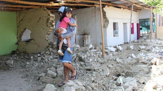 Lluvias en Piura dejaron 856 familias damnificadas