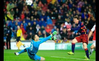Lionel Messi y su sensacional definición ante Arsenal [VIDEO]