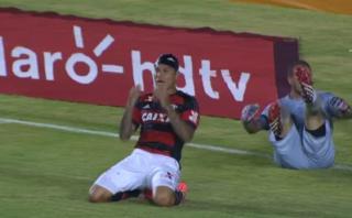 Flamengo con Guerrero, perdió 1-0 ante Confiança en Copa Brasil
