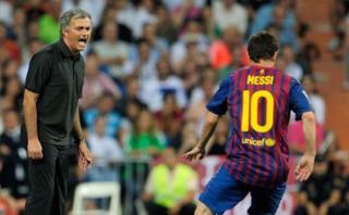 """Mourinho: """"Es más fácil ganar la Champions con Lionel Messi"""""""