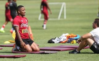 Farfán fue exigido en cuarto entrenamiento de la selección