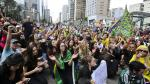 Golpes y gritos, reacción de Brasil al ver a Lula de ministro - Noticias de tomas silva