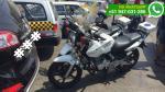 Policías dejaron motos detrás de auto y bloquearon su salida - Noticias de vehículos mal estacionados