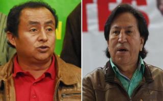 Gregorio Santos y Alejandro Toledo en la cola del sondeo de CPI