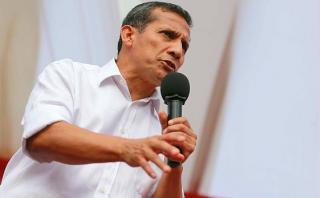 """Ollanta Humala: """"No tenemos ninguna razón para irnos del país"""""""