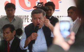 Richard Acuña descarta que APP entable una alianza política
