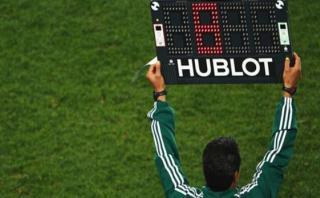 La FIFA autorizó el cuarto cambio en el fútbol para Río