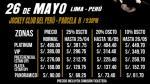 Sin Bandera en Lima: este es el costo de las entradas del show - Noticias de noel schajris