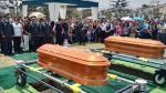 Sepultan con honores a policías asesinados por 'marcas' [FOTOS] - Noticias de vicente zevallos