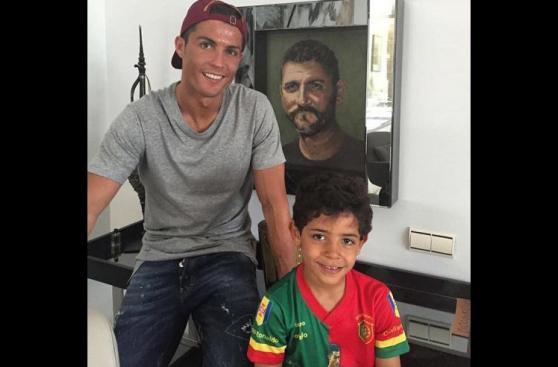 Cristiano Ronaldo y Lionel Messi celebran así el Día del Padre