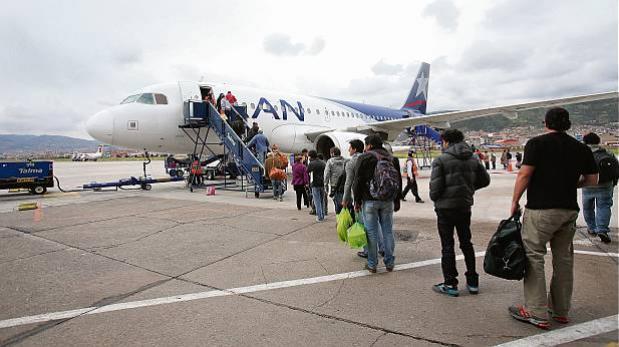 Aerolínea LAN Perú anunció que volará a Jaén, Jauja y Malvinas
