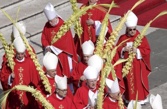 El Papa pide por los refugiados en la misa del Domingo de Ramos