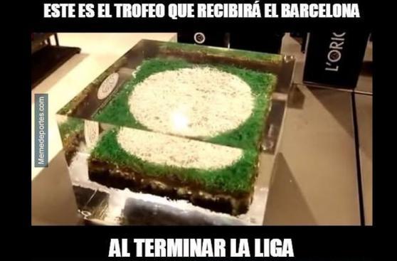 Memes jocosos del Barcelona tras empatar a Villarreal [GALERÍA]
