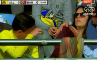 Pelotazo de Messi pegó en chica y esta se desvaneció [VIDEO]
