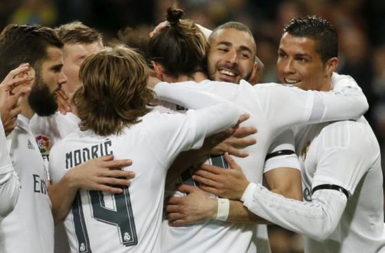 Real Madrid cerró con goleada un grato mes de marzo [GALERÍA]