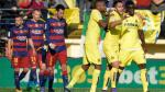Barcelona se vio sorprendido y empató 2-2 frente al Villarreal - Noticias de sergio asenjo