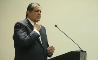 """Alan García: """"A mí nadie me ha llamado corrupto"""""""