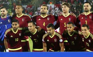 Selección de Venezuela: la 'Vinotinto' ya concentra en Lima
