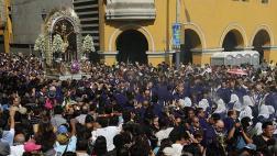 Semana Santa: ruta del Señor de los Milagros en Viernes Santo