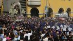 Semana Santa: ruta del Señor de los Milagros en Viernes Santo - Noticias de señor de los milagros