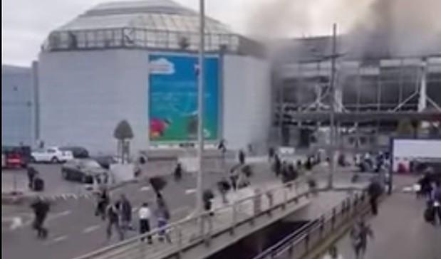 Atentados en Bruselas, Bélgica. (Captura de pantalla: YouTube)