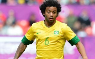 Marcelo se molestó por haber sido excluido por Dunga de Brasil