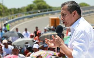 """Ollanta Humala: """"Es normal que haya pullazos en la campaña"""""""