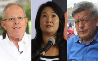 Los candidatos presidenciales acusados de entregar dádivas