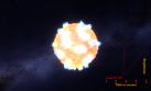 Observan por primera vez una onda de choque de una supernova