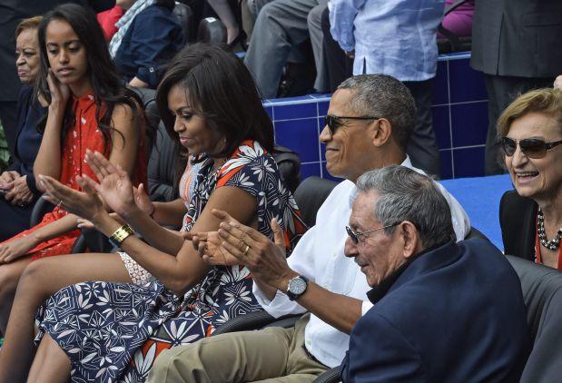 Barack Obama en Cuba. (Foto: AFP)