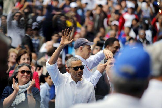 Barack Obama en Cuba. (Foto: Reuters)