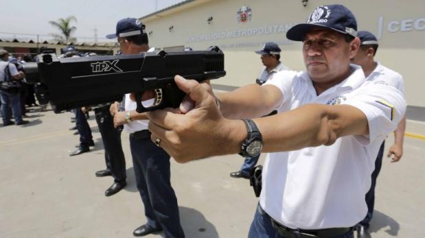 Lima compró armas no letales a empresa no autorizada